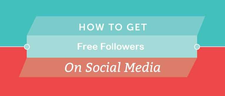 How I Managed to get Free Followers on Social Media