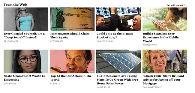 Revcontent ads