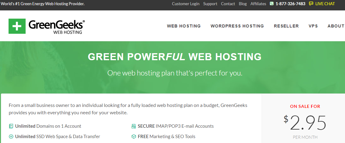 GreenGeeks Review – Cheap, Reliable and Blazingly Fast