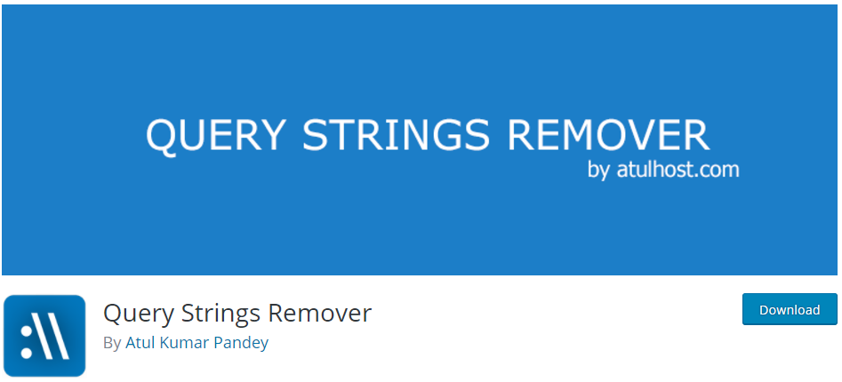 query string remover